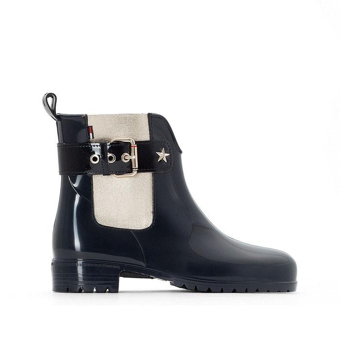 Boots de pluie exley   bleu marine/or Tommy Hilfiger   La Redoute