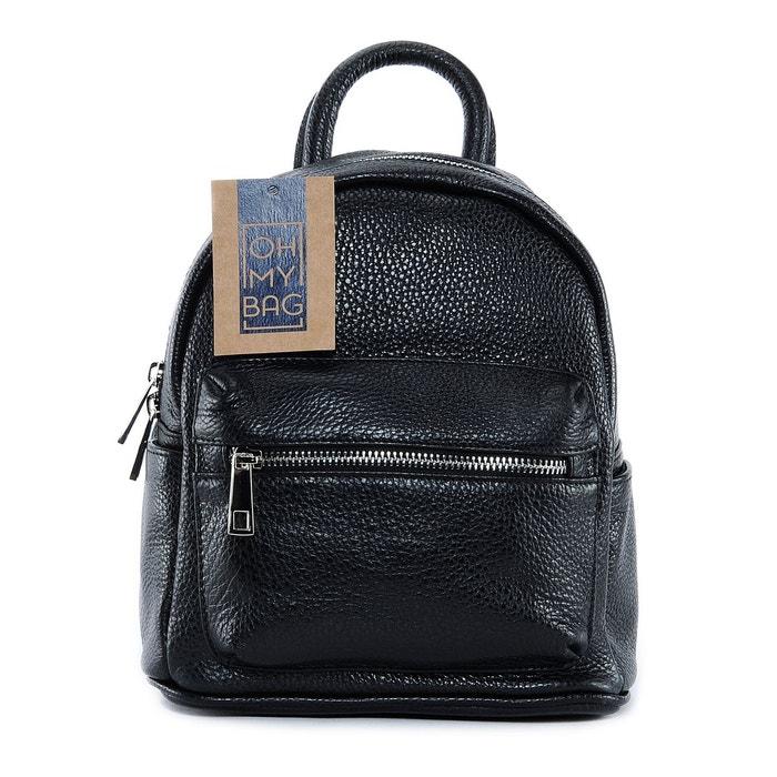 sac dos en cuir femme mod le kyoto petit mod le oh my bag la redoute. Black Bedroom Furniture Sets. Home Design Ideas
