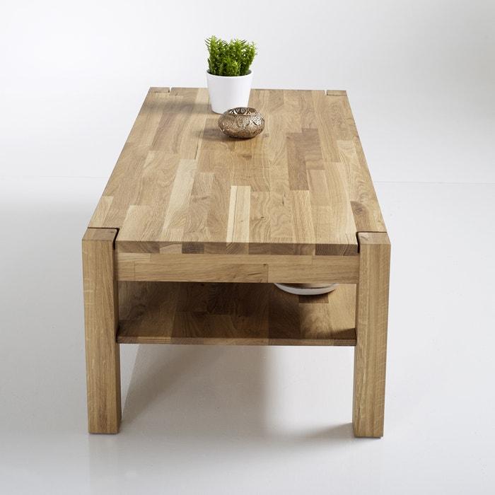 Image Adelita Joined Oiled Oak Coffee Table La Redoute Interieurs