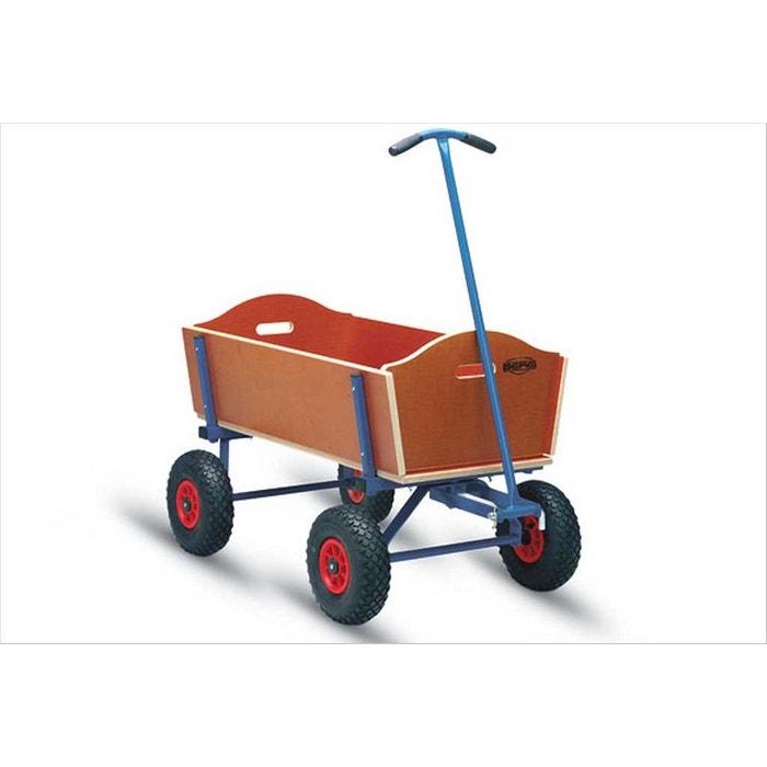 chariot en bois berg taille l couleur unique berg toys. Black Bedroom Furniture Sets. Home Design Ideas