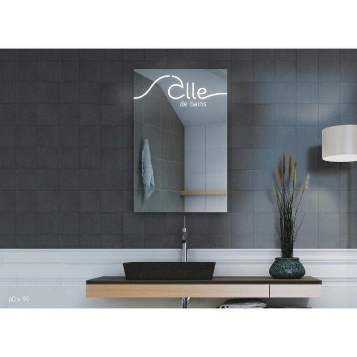 Miroir Led, Salle de Bains I 90 x 60 cm