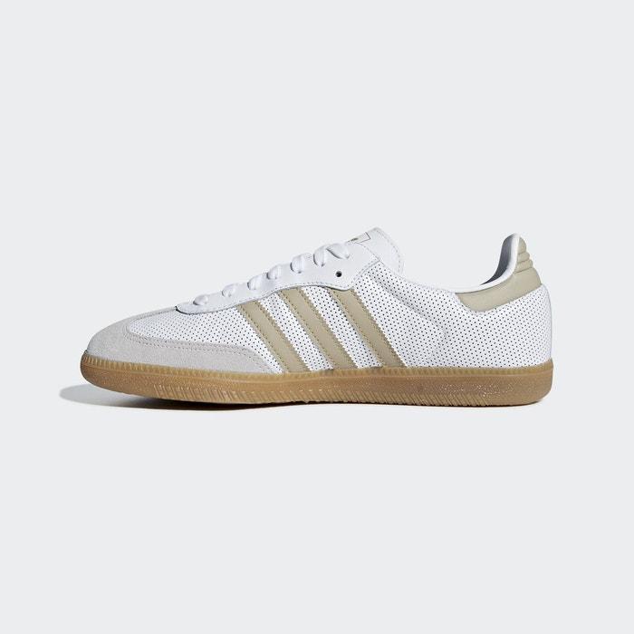 new style ae6a8 98cd3 Chaussure samba og blanc Adidas Originals   La Redoute