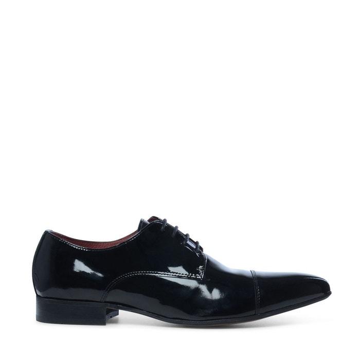 Chaussures à lacets  laque noire Sacha  La Redoute