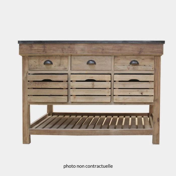Meuble cuisine en bois massif meubles en bois massif new for Mobilier de cuisine en bois massif