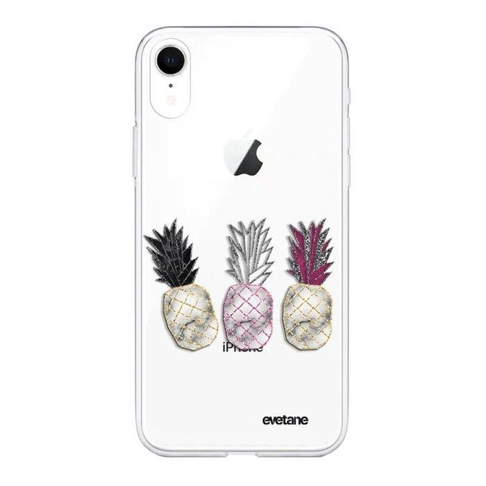 coque iphone xr transparente motif