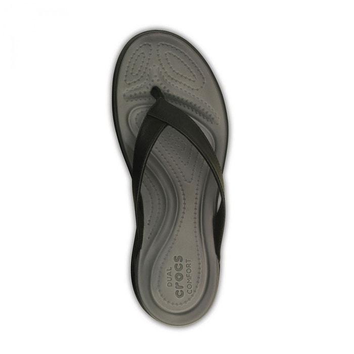 3393978b8ce Capri v - sandales femme - noir noir Crocs