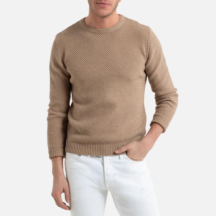 Trui in fijn tricot met ronde hals  LA REDOUTE COLLECTIONS image 0