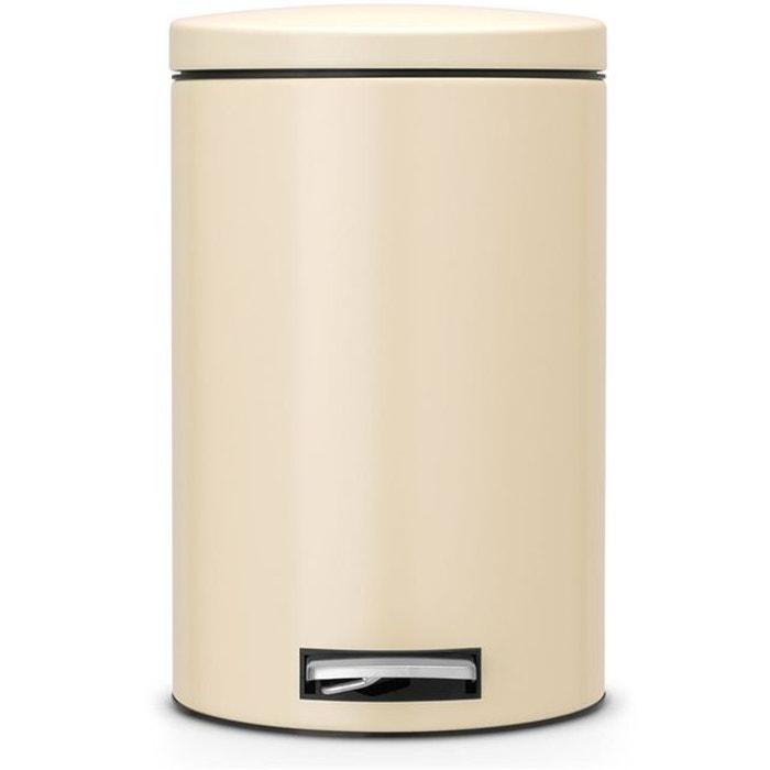 poubelle p dale brabantia motioncontrol 12 l beige brabantia la redoute. Black Bedroom Furniture Sets. Home Design Ideas