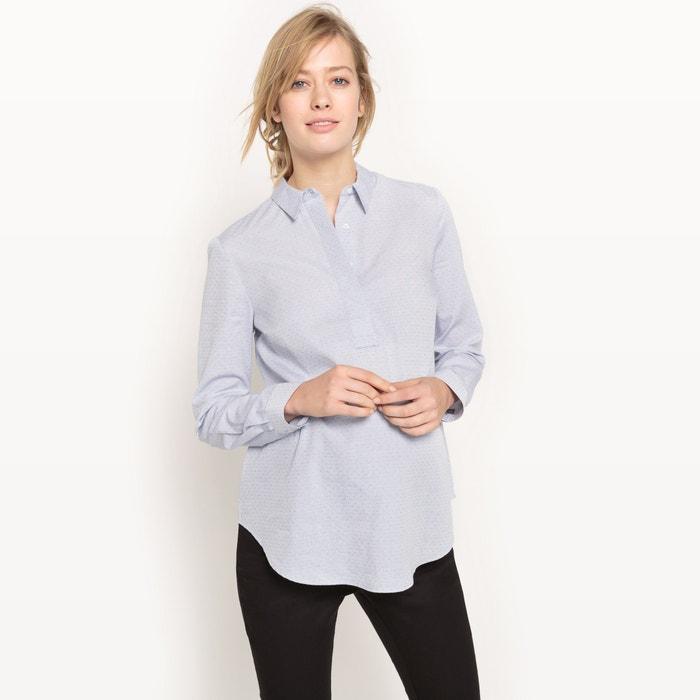 chemise en coton de grossesse bleu ciel la redoute collections la redoute. Black Bedroom Furniture Sets. Home Design Ideas
