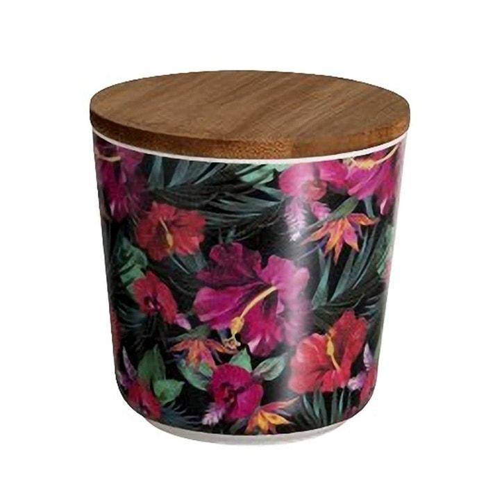 pot en bambou fleurs d 39 hibiscus 11 cm jolipa la redoute. Black Bedroom Furniture Sets. Home Design Ideas