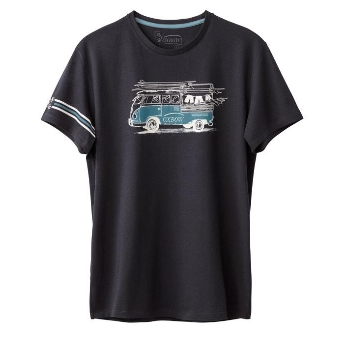 afbeelding T-shirt met ronde hals OXBOW
