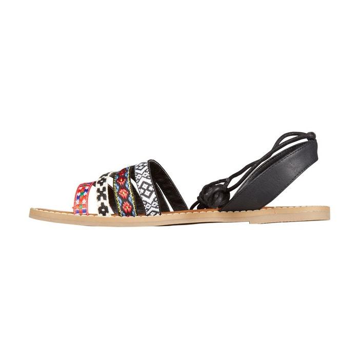 cb4767a93d4cd Tongs Billabong Shorelinez - Multi-MULTI Roldan Femmes Chaussures Plates  avec Coin Noir Taille 37