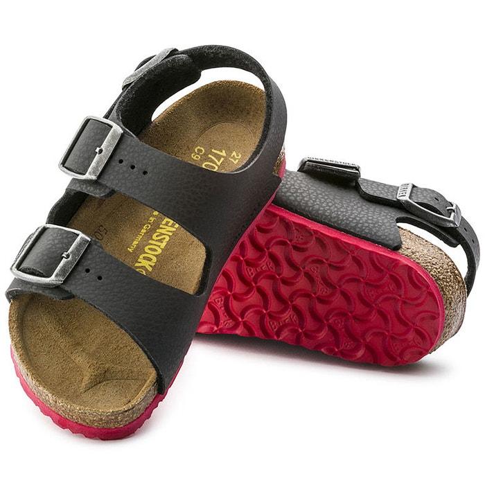 Sandali milano nero rosso Birkenstock  b10270d9113