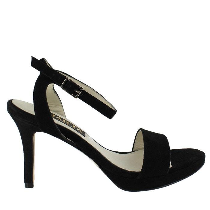 Sandales plateforme à talons hauts et brides or Marta Jonsson Excellente En Ligne Geniue Stockiste Prix Pas Cher parfait uxOkCVve