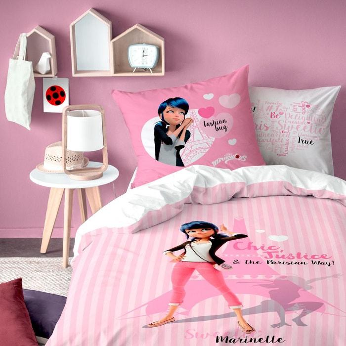 9d8308a3a6646 Parure enfant Miraculous Ladybug - Housse de couette + taie d oreiller  MIRACULOUS image 0