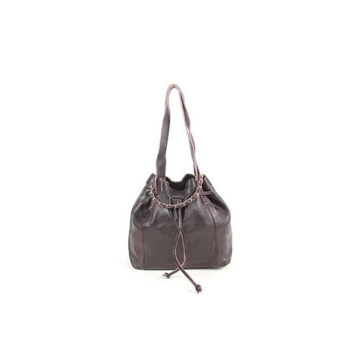 Vente Pas Cher Fiable Grand sac 2 en 1 cuir de vachette cafe Paquetage | La Redoute Hyper En Ligne choix RH8diPprP8