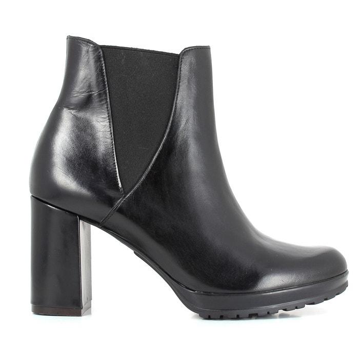 SYNTONY Heeled Leather Boots  ELIZABETH STUART image 0