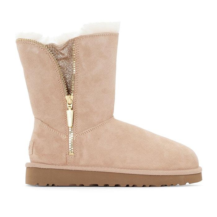 multicolore Boots cuir marice beige Ugg Jeu De Jeu Livraison Gratuite Le Plus Récent DYwS8ZsxYb