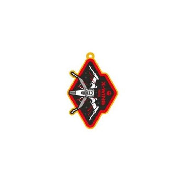 star wars episode vii porte cl s caoutchouc x wing 6 cm pyramid international la redoute. Black Bedroom Furniture Sets. Home Design Ideas