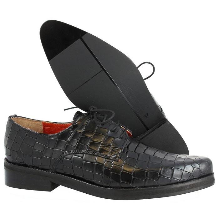 Chaussures a lacets folio 318 noir Elizabeth Stuart