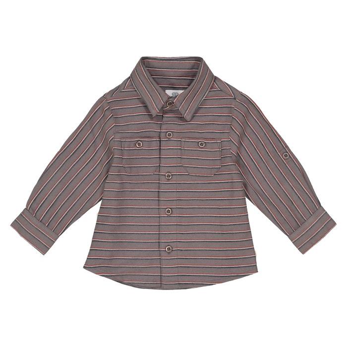on sale 5ac5b aef85 Gestreiftes Hemd, lange Ärmel, 1 Monat - 3 Jahre