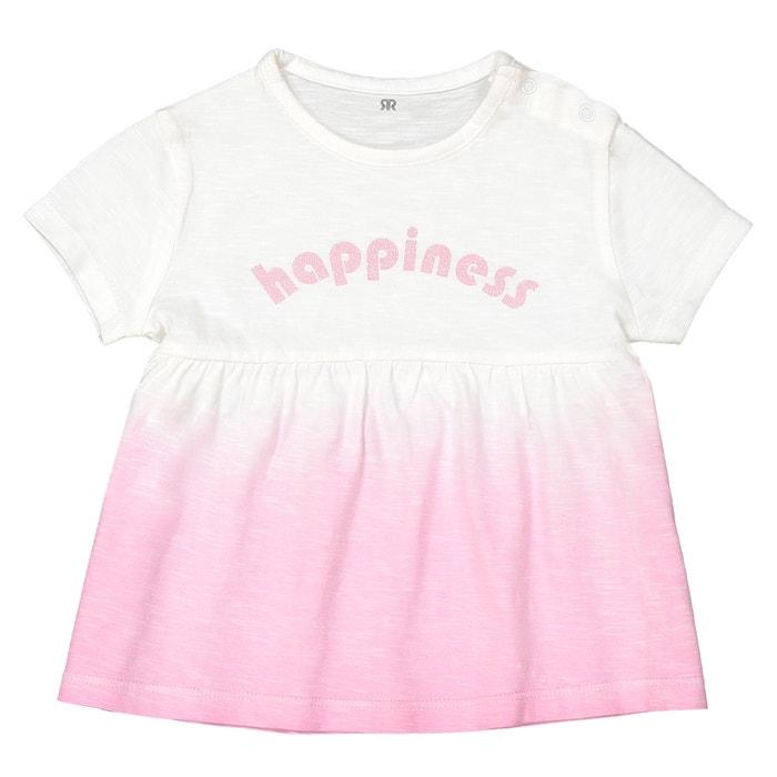 T-shirt scollo rotondo fantasia Oeko Tex da 1 mese a 3 anni  La Redoute Collections image 0