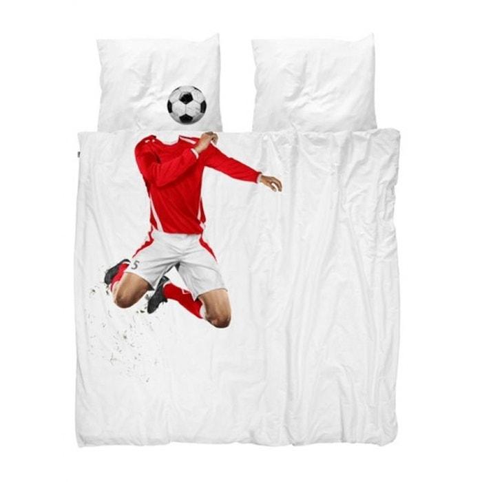 parure de lit 200x200 soccer nordic factory la redoute. Black Bedroom Furniture Sets. Home Design Ideas
