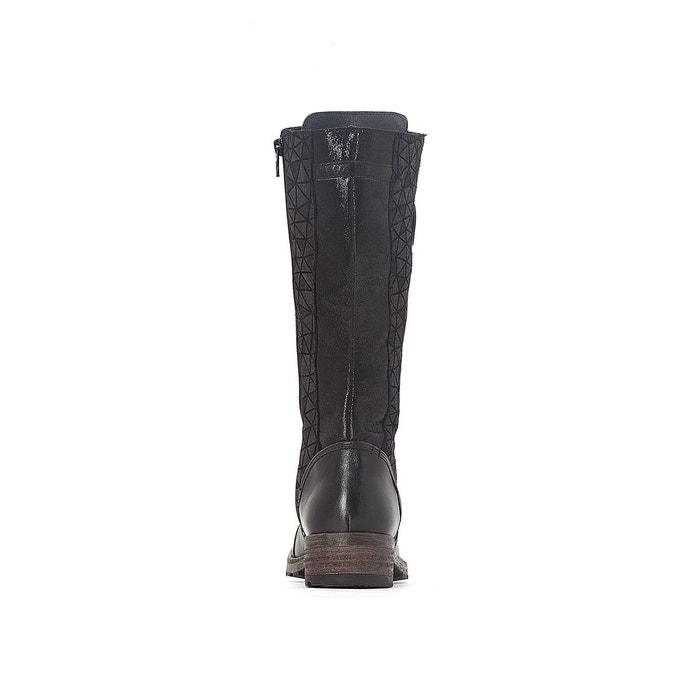 à dolce noir Pataugas Bottes cuir lacets Uq77F