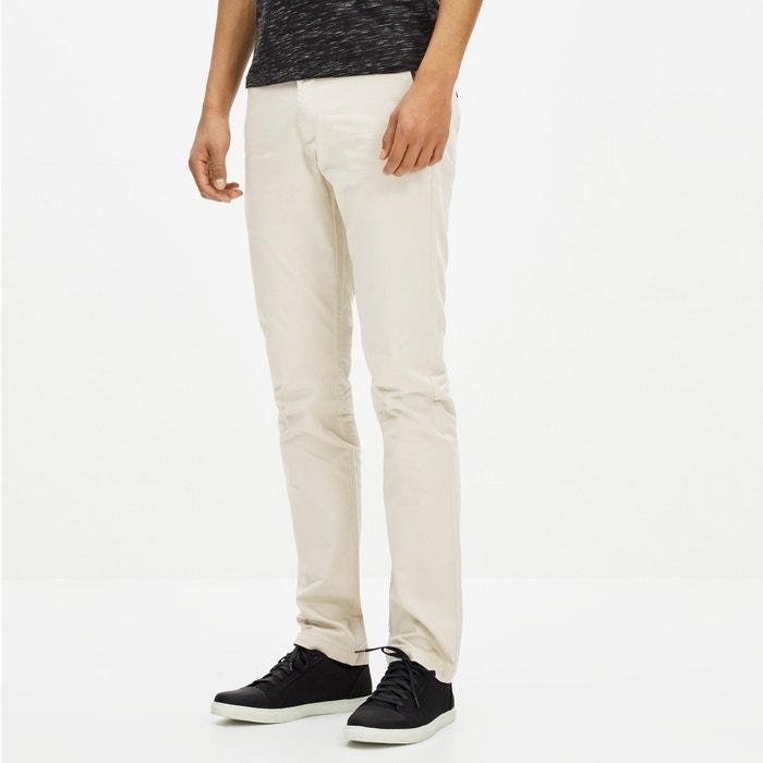 Image Pantalon slack en coton stretch GOLAKE CELIO