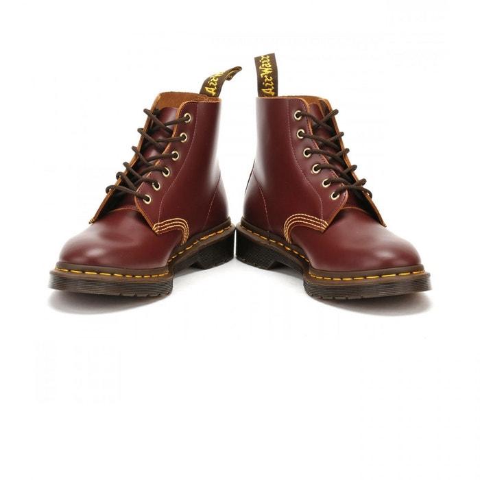 Boots brando 101 arc oxblood vintage smooth bordeaux Dr Martens