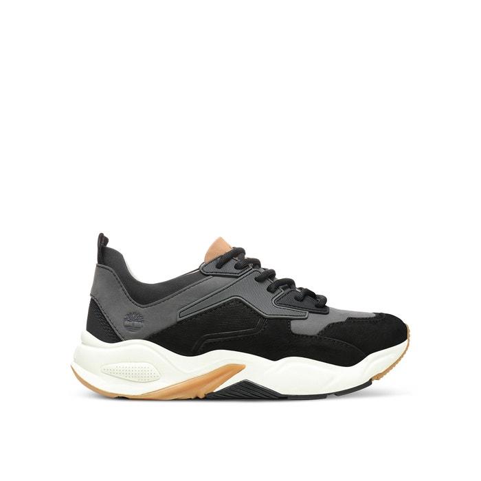 0c23f111d50 Leren sneakers delphiville zwart Timberland | La Redoute
