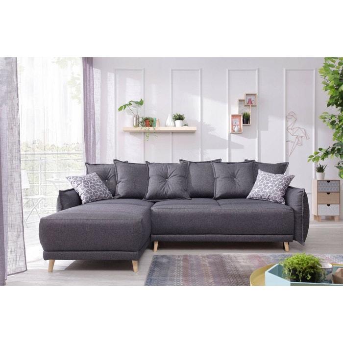 canap d 39 angle r versible convertible lena bobochic la. Black Bedroom Furniture Sets. Home Design Ideas