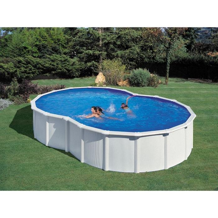 kit piscine acier en huit varadero blanche x x m couleur unique h j habitat. Black Bedroom Furniture Sets. Home Design Ideas