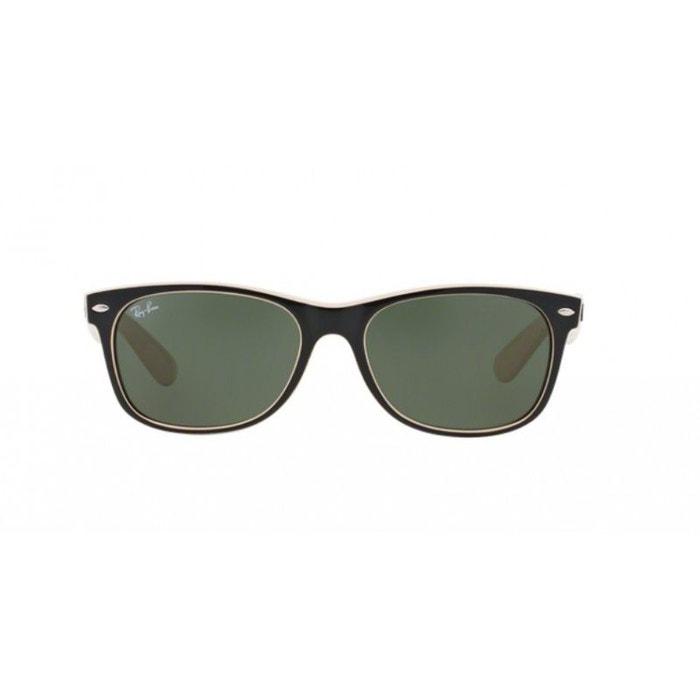 magasiner pour authentique plusieurs couleurs Couleurs variées Lunettes de soleil mixte RAY BAN Noir RB 2132 NEW WAYFARER 875-52/18