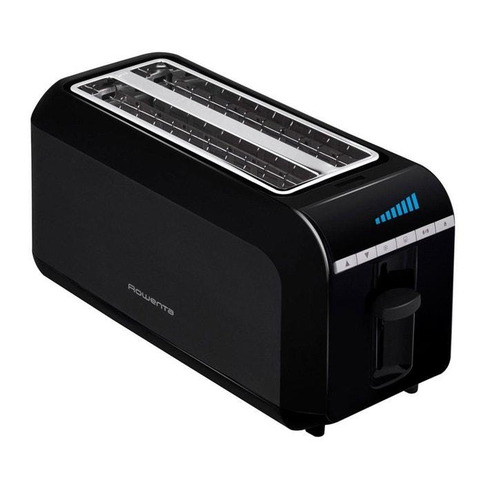 grille pain toaster tl681830 noir rowenta la redoute. Black Bedroom Furniture Sets. Home Design Ideas