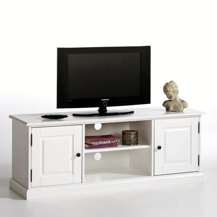 Banc TV, pin massif, Authentic Style La Redoute Interieurs