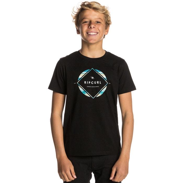 T-shirt estampada com gola redonda, mangas curtas  RIP CURL image 0