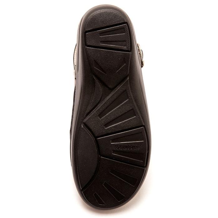 Sandales semelles massantes spécial hallux valgus marron métallisé Pediconfort