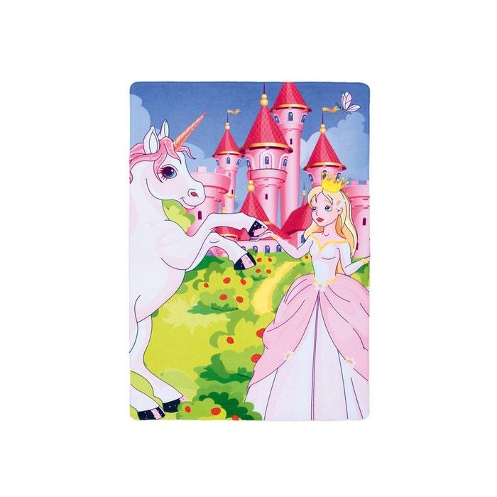 Tapis princesse pour chambre de fille lavable en machine olga ...
