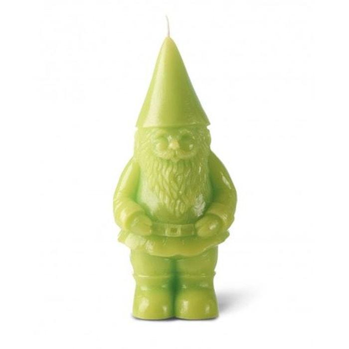 bougie d corative nain 21cm vert anis vert anis bougies la. Black Bedroom Furniture Sets. Home Design Ideas