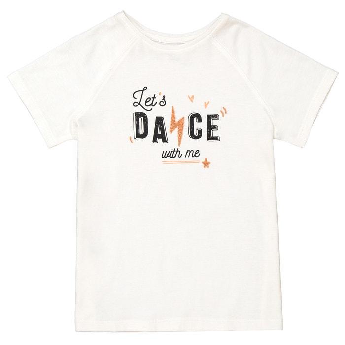 "T-shirt ""Let's dance"" 3 - 12 anni  La Redoute Collections image 0"
