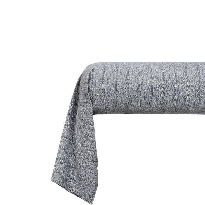 taie d 39 oreiller plumetis gris olivier desforges la redoute. Black Bedroom Furniture Sets. Home Design Ideas
