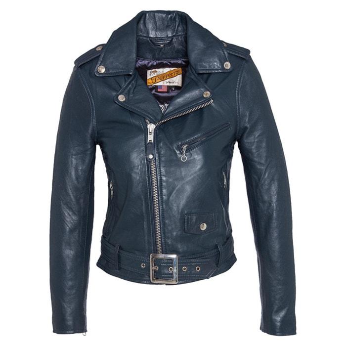 Image Perfecto 8600 Leather Biker Jacket with Belt SCHOTT
