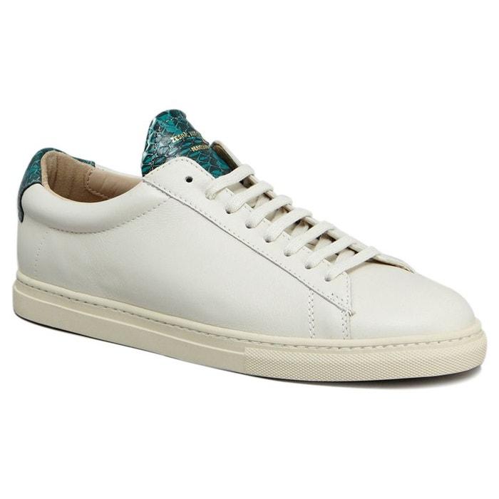 Sneakers nappa  emeraude Zespa  La Redoute