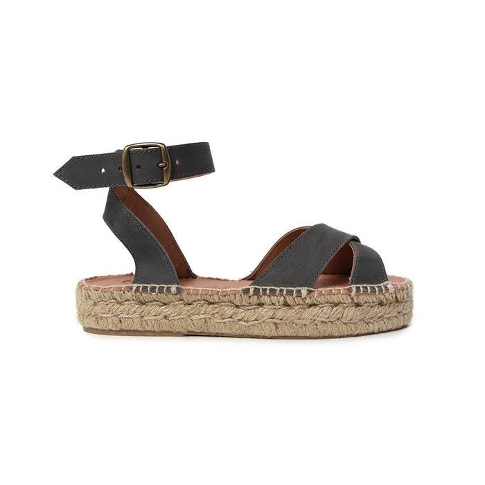 Nouveau Jeu Sandale gris alexandra gris Polka Shoes boutique Réduction Authentique sneakernews nj82oElcO