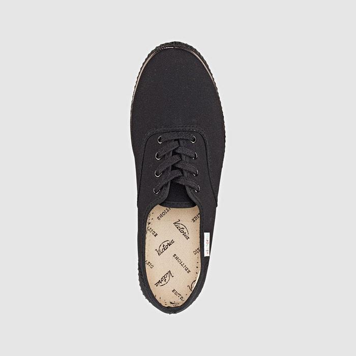 Baskets inglesa iona piso negro noir Victoria