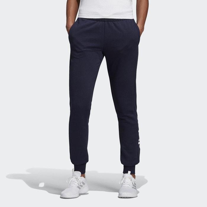 best service ce792 5f993 Pantalon essentials linear bleu Adidas Performance   La Redoute