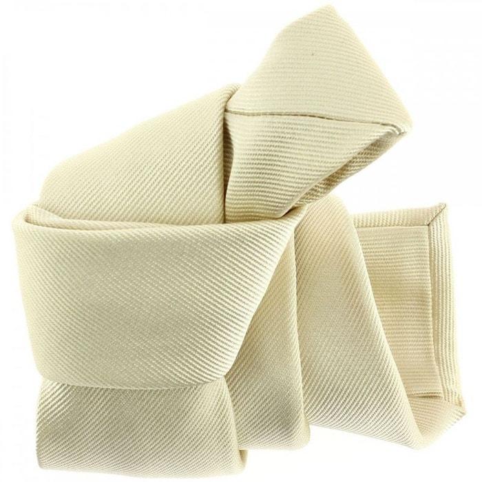Cravate luxe faite à la main, avorio blanc Tony Et Paul | La Redoute