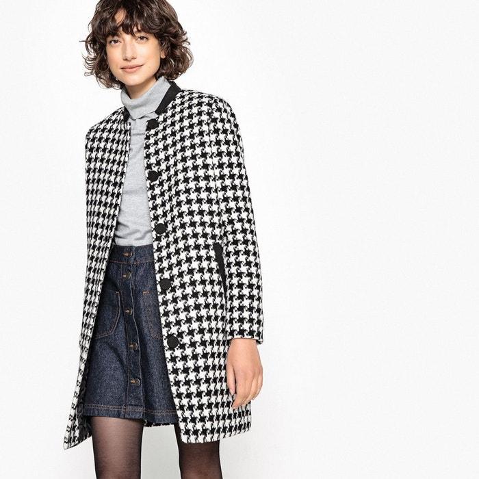 Manteau mi-long en laine mélangée  LA REDOUTE COLLECTIONS image 0