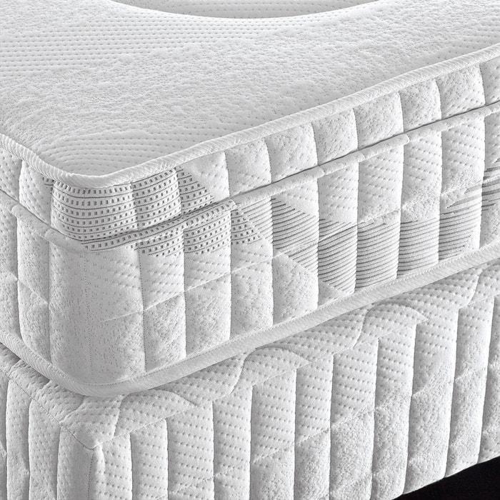 Image Matelas latex, confort luxe ferme 5 zones, avec surmatelas intégré REVERIE PREMIUM